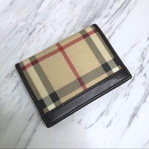 Burberry Eyeglass Wipe Case Wallet